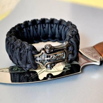 Фото плетеный браслет с застежкой