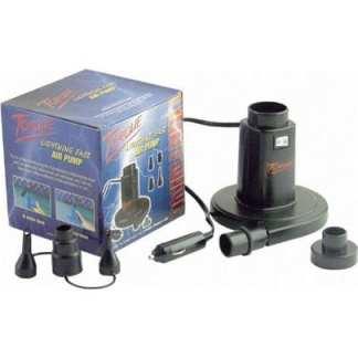Elektrisk luftpump 12 V, blås- eller sugverkan