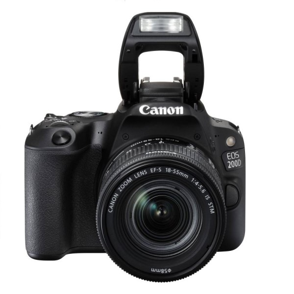 Canon EOS 200D DSLR with EF-S 18-55mm STM Lens