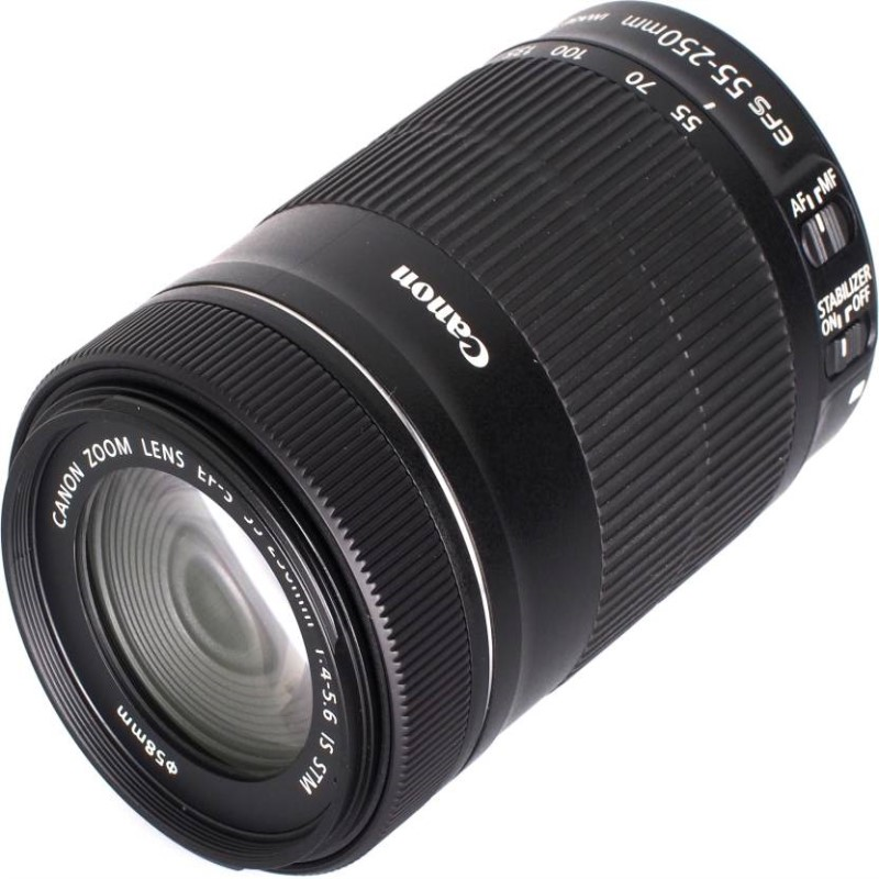 Canon EF-S-55-250mm F4-5.6 IS STM Lens