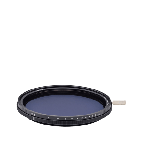 NiSi NIR-VND-77 Variable ND 1.5-5 Stop Filter, 77mm From Ikan, Black2