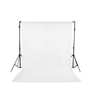 White ScreenBackdrop - 8 x 12 feet