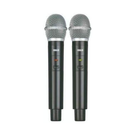 Ahuja AWM-495V2 Dual Hand wireless Microphone 1 3