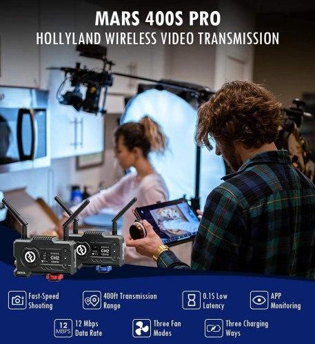 Wireless Video Transmission System - Hollyland Mars 400S PRO