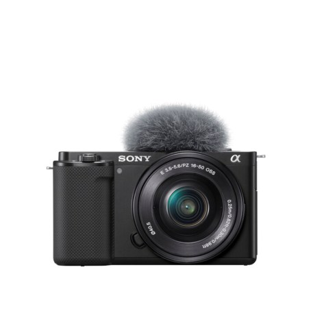 Sony ZV-E10 Mirrorless Camera with 16-50mm Lens (Black)_main