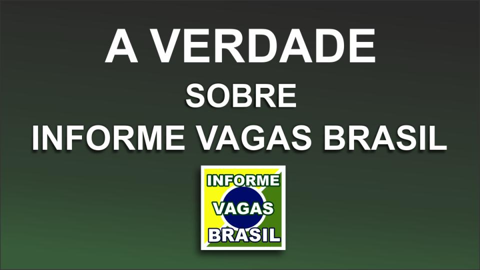 Grupo VIKON assume Informe Vagas Brasil e diz não ao AdSense
