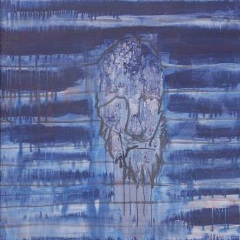 Becoming One with Harmony   38in x 44in   Mixed Media   2008