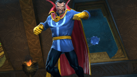 Screenshot: Doctor Strange, Contest of Champions