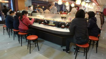 the best sushi restaurant ever: very cheap, tasty and soooo convenient!