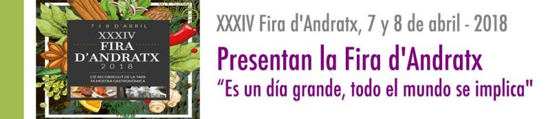 PRESENTAN LA FIRA ANDRATX