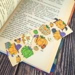 """""""Pumpkins"""" - matt fóliázott könyvjelző"""