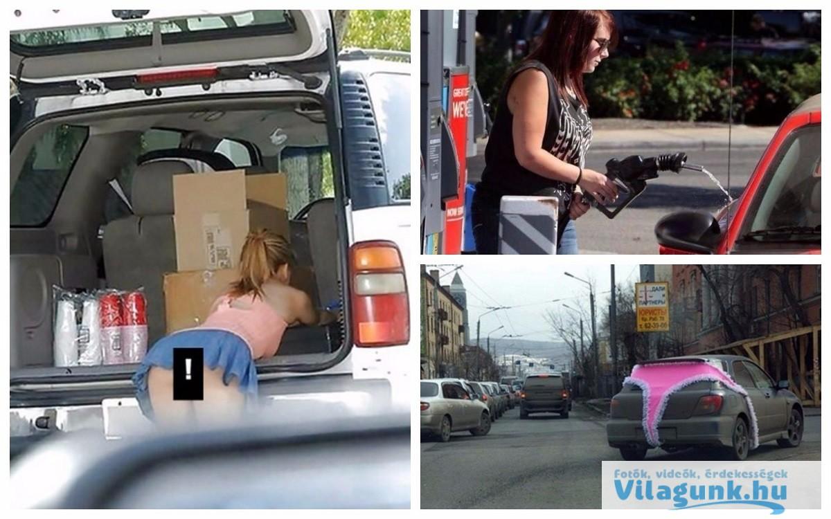 10 meggyőző indok, hogy miért nem jó a nőket a volán mögé engedni...