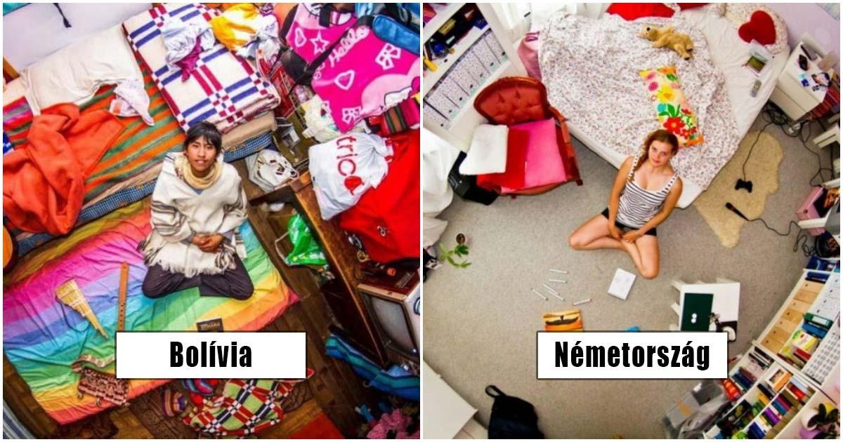 Ilyenek a különböző nemzetiségű emberek hálószobái