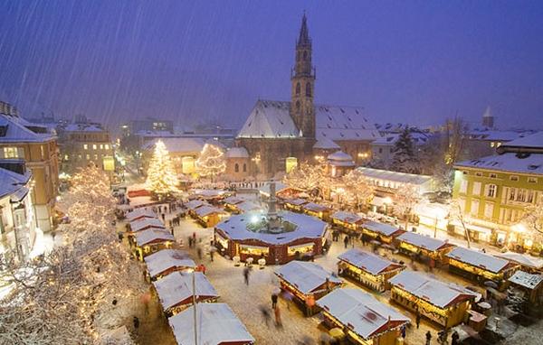 Karácsonyi vásár Bolzano