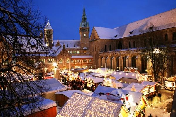Karácsonyi vásár Braunschweig
