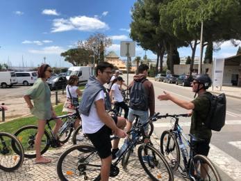 Bike tour food and fun