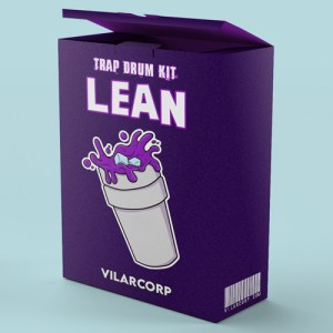 LEAN Trap Drum Kit by VILARCORP
