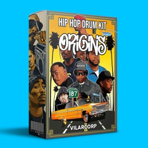 ORIGINS Hip Hop Drum Kit by VILARCORP