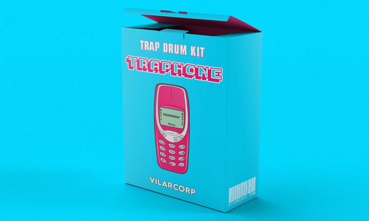 TRAPHONE Trap Drum Kit
