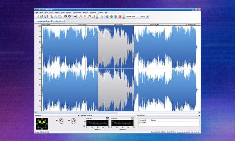 Free Download Nero Wave Editor