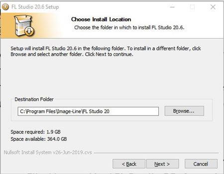 How to install FL Studio 20 on Windows 10 - Step 5