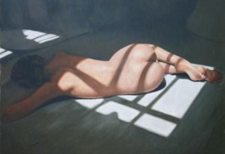 recliningnude1sunlight1series