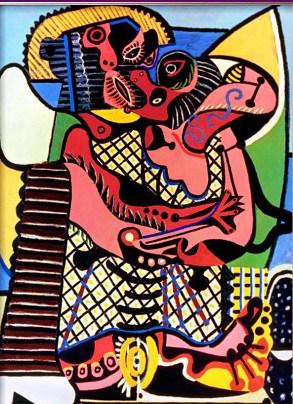 Pablo Picasso Kiss2