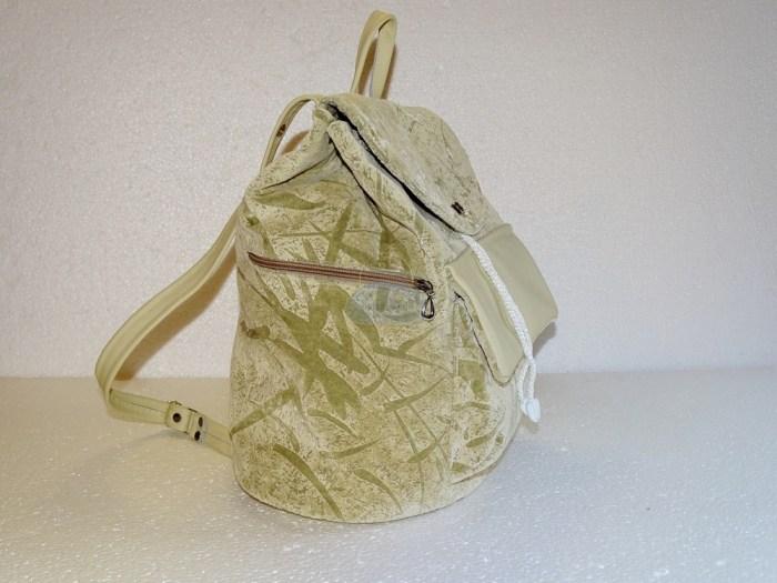 рюкзак с боковой стороны