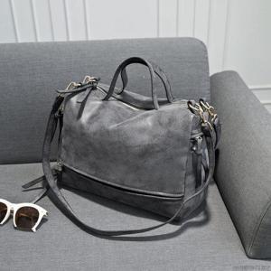 Дорожная сумка из замши