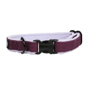 Planet Dog Cozy HempCollar Purple
