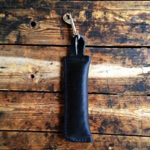 bild på en sökrulle i läder från alac