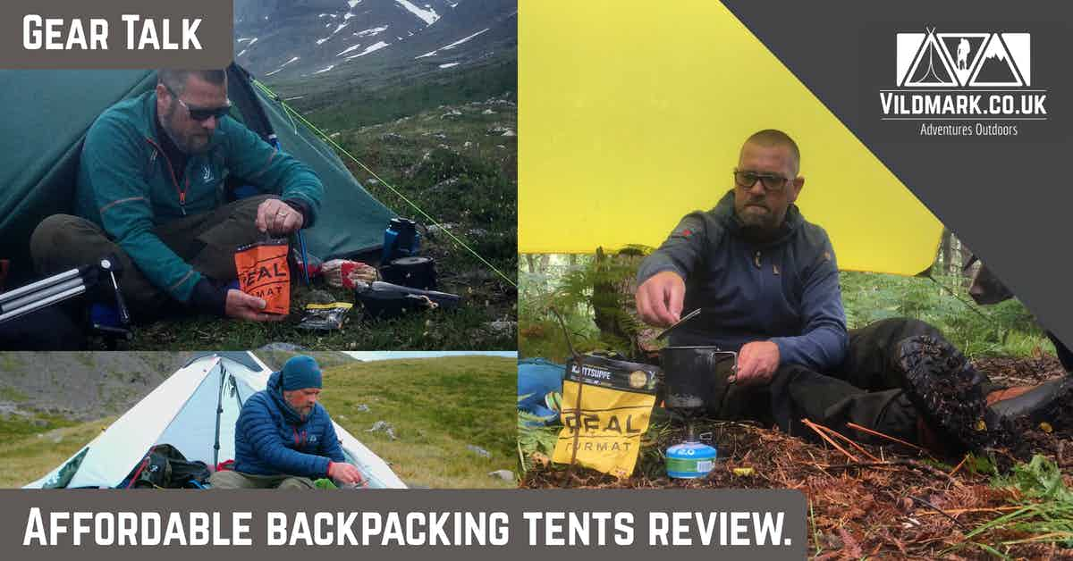 Affordable backpacking tents review.