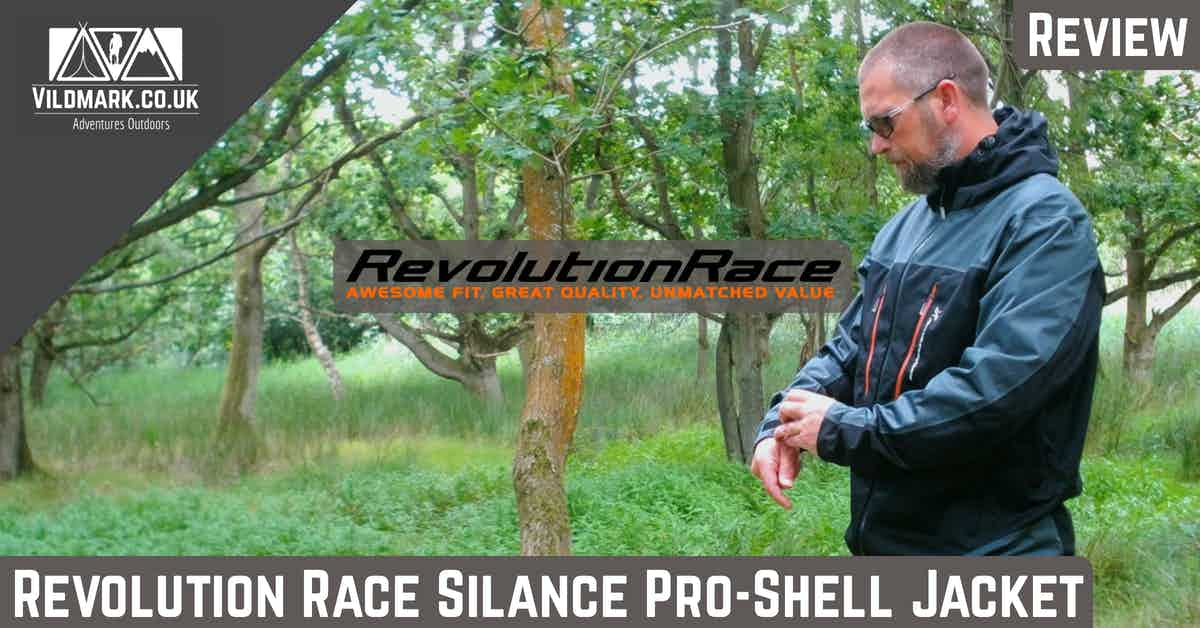 revolution race silence pro shell review