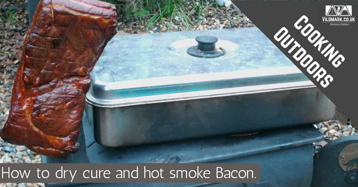 how to dry cure and hot smoke bacon
