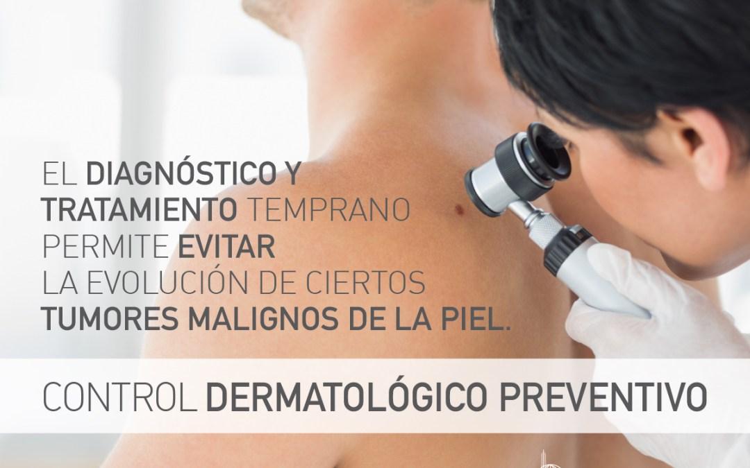 Realizá tu Control Dermatológico. Es muy importante la salud de la piel!!!