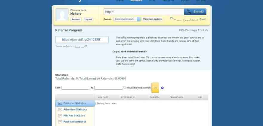 adfly referral program