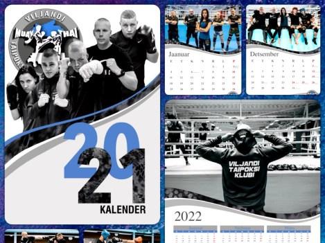 Viljandi taipoksi klubi kalender 2021