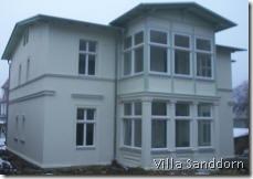Villa Sanddorn Frühjahr 2005