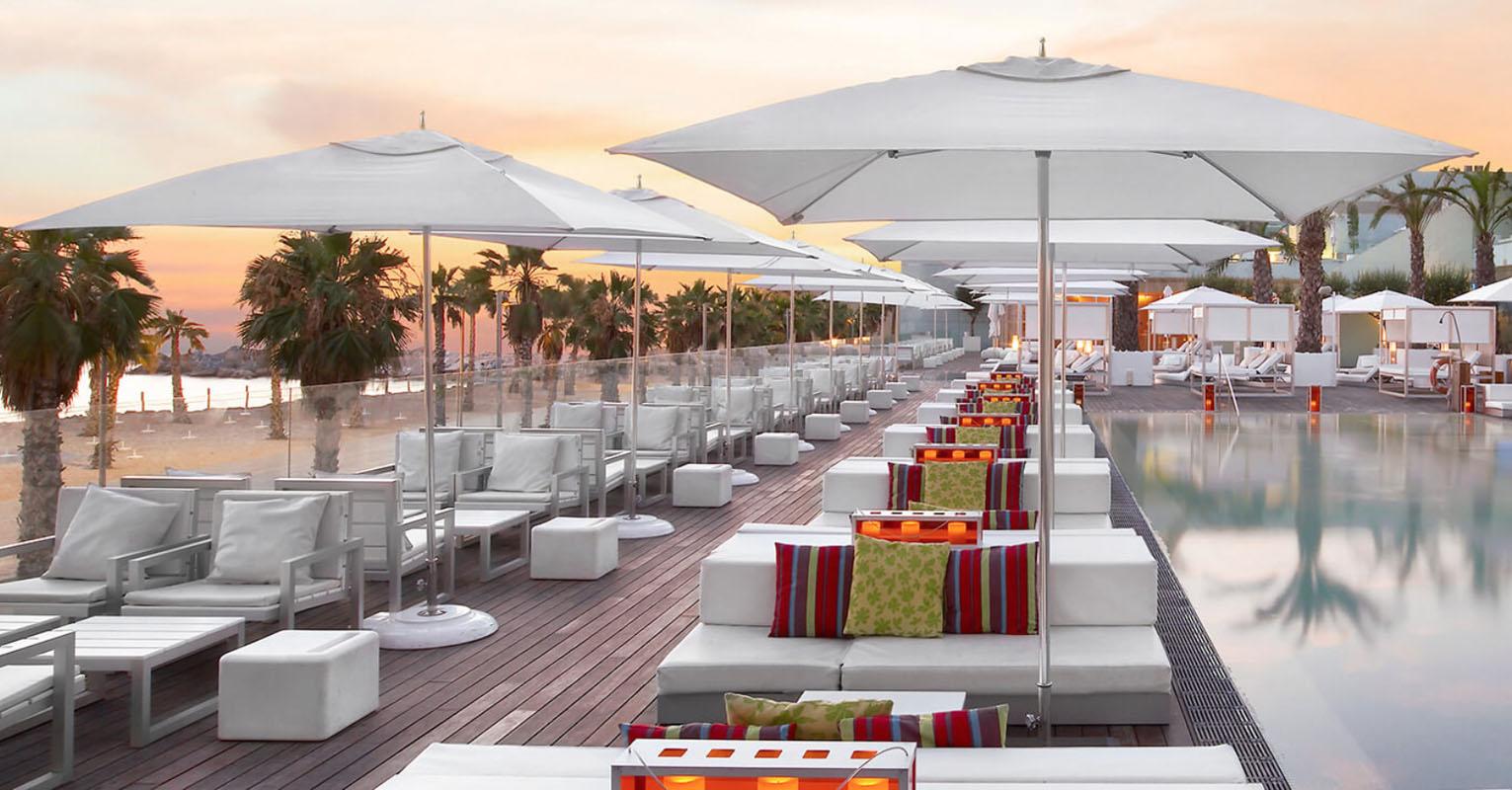 commercial umbrellas villa terrazza