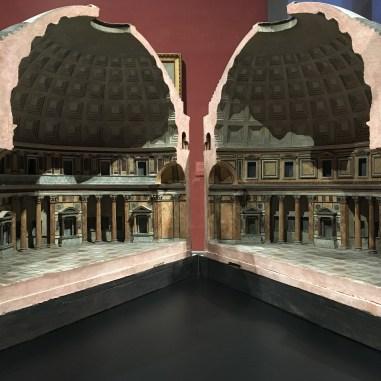 Korkmodell Pantheon, Antonio Chichi, um 1790