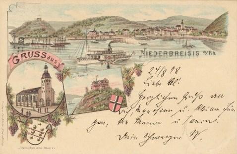 Niederbreisig am Rhein