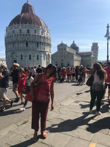 Una stupenda giornata tra Pisa e Marina di pisa