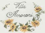 Villa Amoroni Lucca Targa Logo