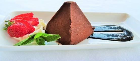Mayan Chocolate Pyramid