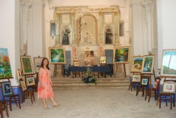mostra personale nella ex Chiesa San Francesco ( Villamagna )