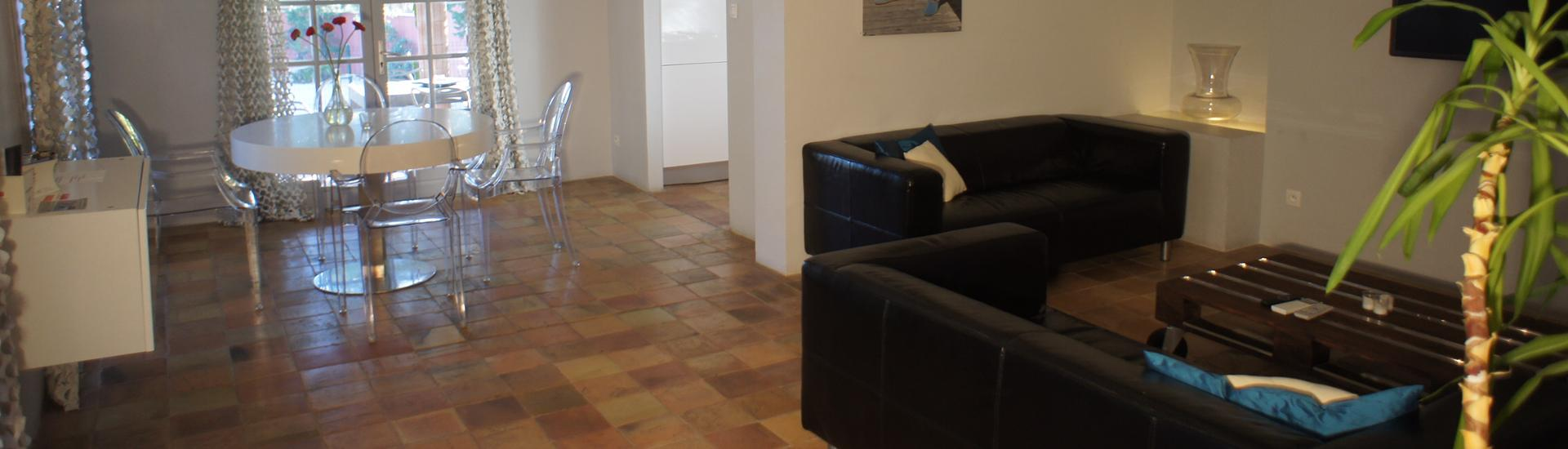 Appartement 72 en 105m2 woonkamer
