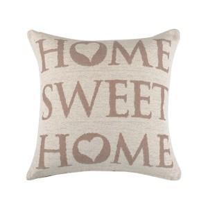 poduszka znapisami home sweet