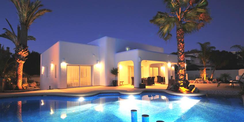 villa avec piscine espagne villas