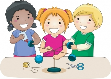 arts and crafts clipart clipart kidkids making crafts clipart