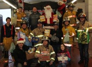Charlo Fire Department Santa Parade